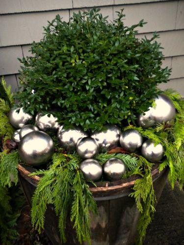 xmas planter