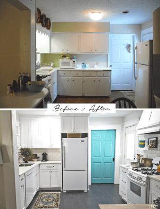 Bennett Kitchen Before After