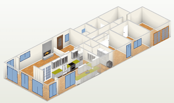 Shaniqua Floor Plan 3D