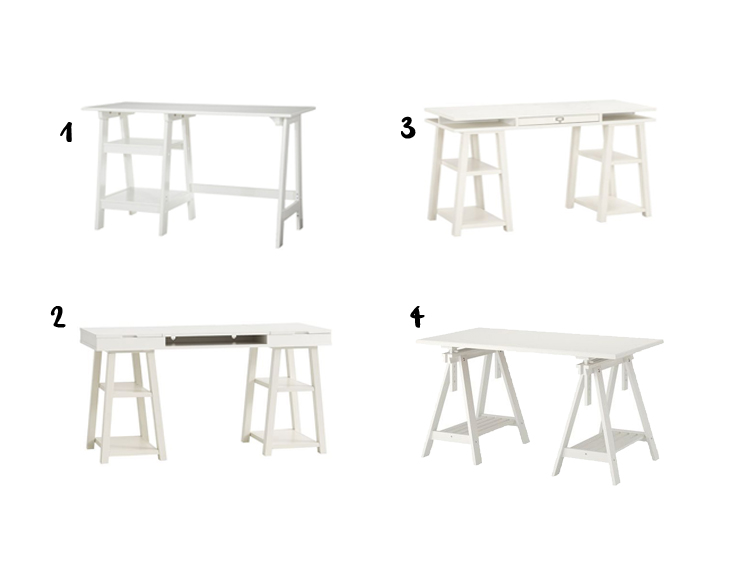 trestle desks