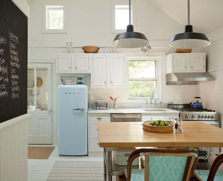 jenny wolf hamptons cottage kitchen