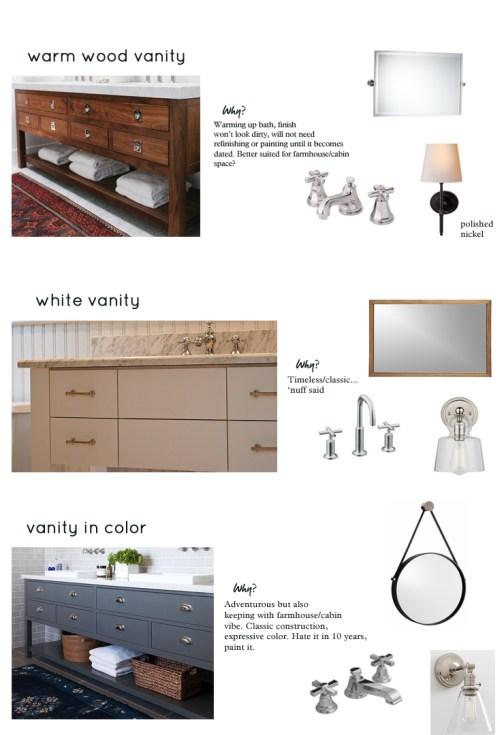 Asheville vanity color