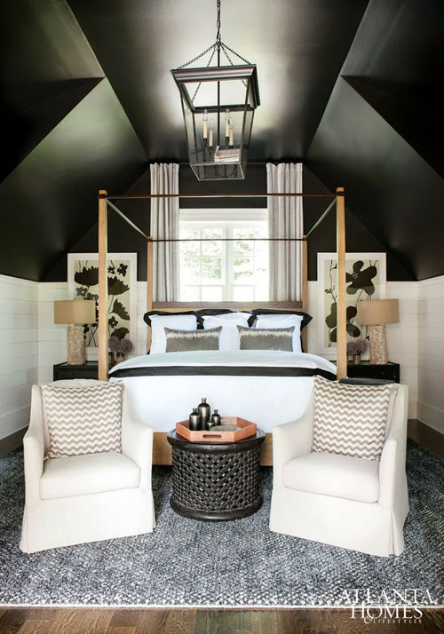 black-ceilings-vaulted-ceiling-via-atlanta-homes