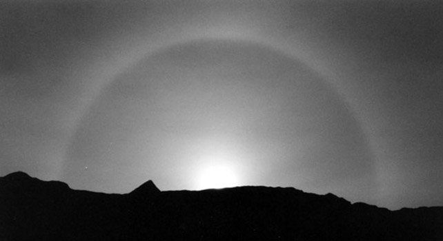 Moonbow - Night time rainbow