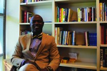 Dr. Trusty is the head of the Accreditation Committee at Kinkaid, managing committee visits and annual reports. Photo by Emma Stout.