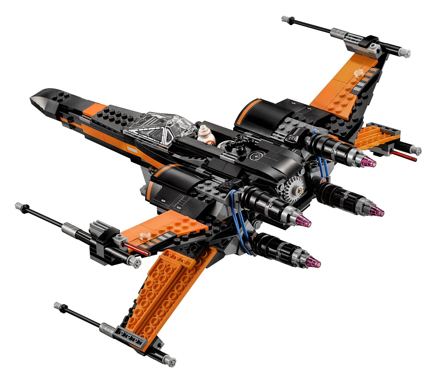 LEGO Star Wars Poe's X-Wing Fighter 75102 - 8 - The Family Brick