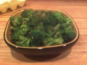 Broccoli genovese basil