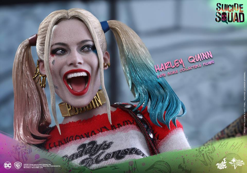 PREVIEW] Hot Toys Suicide Squad Harley Quinn One-Sixth Scale Figure ...
