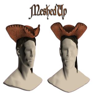 MeshedUp Pirate Ad Floral