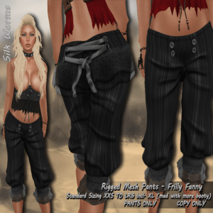 Silk-Worms-Frilly-Fanny-Pirate-Pants-black