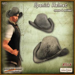 [V_W - Ginger Line] Spanish Helmet