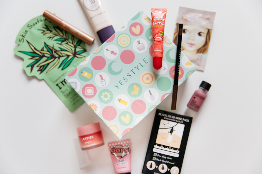 Yesstyle Korean beauty box review.