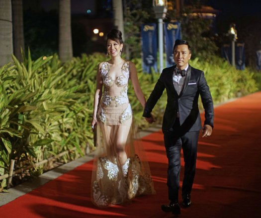 Juror-for-the-Asia-Film-Awards,--Donnie-Yen,-with-wife-Cissy-Wong