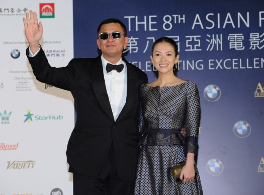 Wong-Kar-Wai-received-the-award-for-'Best-Director'-with-Zhang-Ziyi-who-won-'Best-Actress'-for-The-Grandmaster