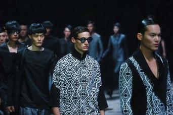 Jiwenbo High Fashion Collection during the China Fashion Week in Beijing