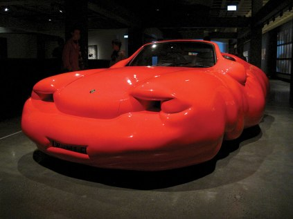 Austrian sculptor Erwin Wurm's Fat Car at MONA