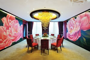 The main private dining room in Yu Lei