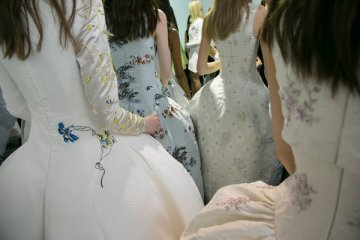 Details from the Christian Dior couture show