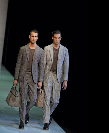 Giorgio Armani's 2013 SS men's collection