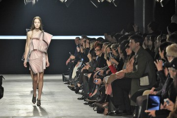 Christopher Kane's autumn:winter catwalk show at London fashion week