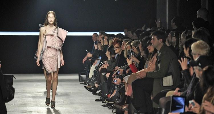 Christopher Kane's autumn:winter catwalk show at London fashion week