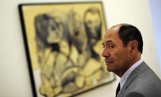 Pablo Picasso's only surviving son, Claude