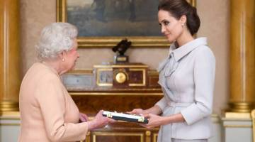 Angelina Jolie Made Honory Dame by Queen Elizabith II