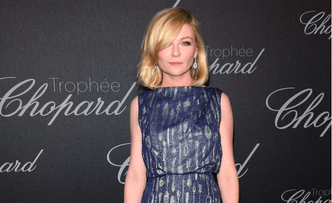 KIRSTEN DUNST AT CHOPARD TROPHEE PARTY IN CANNES