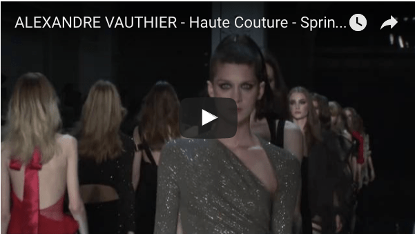 ALEXANDRE VAUTHIER - Haute Couture - Spring/Summer 2016