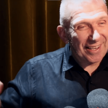 JEAN-PAUL GAULTIER interviewed by Fashion Insider TV after his show for Fall Winter 2016/17.