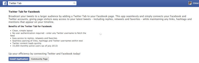 facebook twitter screenshot