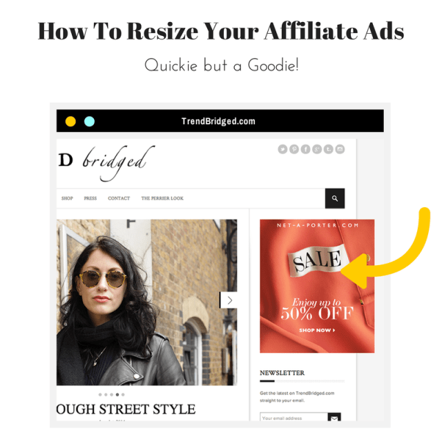 Resize Affliate Ads