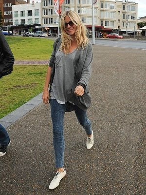 Sienna Miller in Rupert Sanderson Shoes