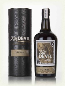 Kill Devil Guyana 15 Year Old Rum review by the fat rum pirate