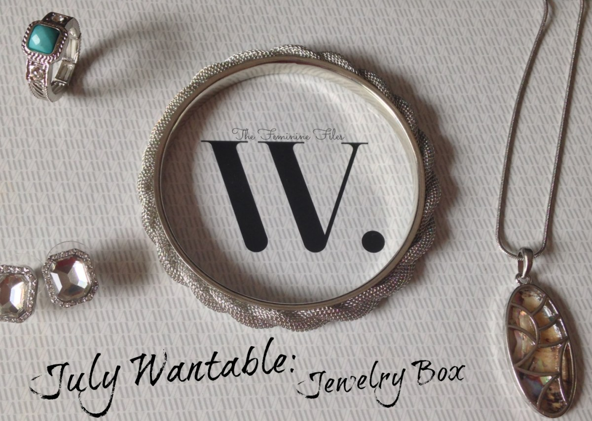 July Wantable: Accessories Box