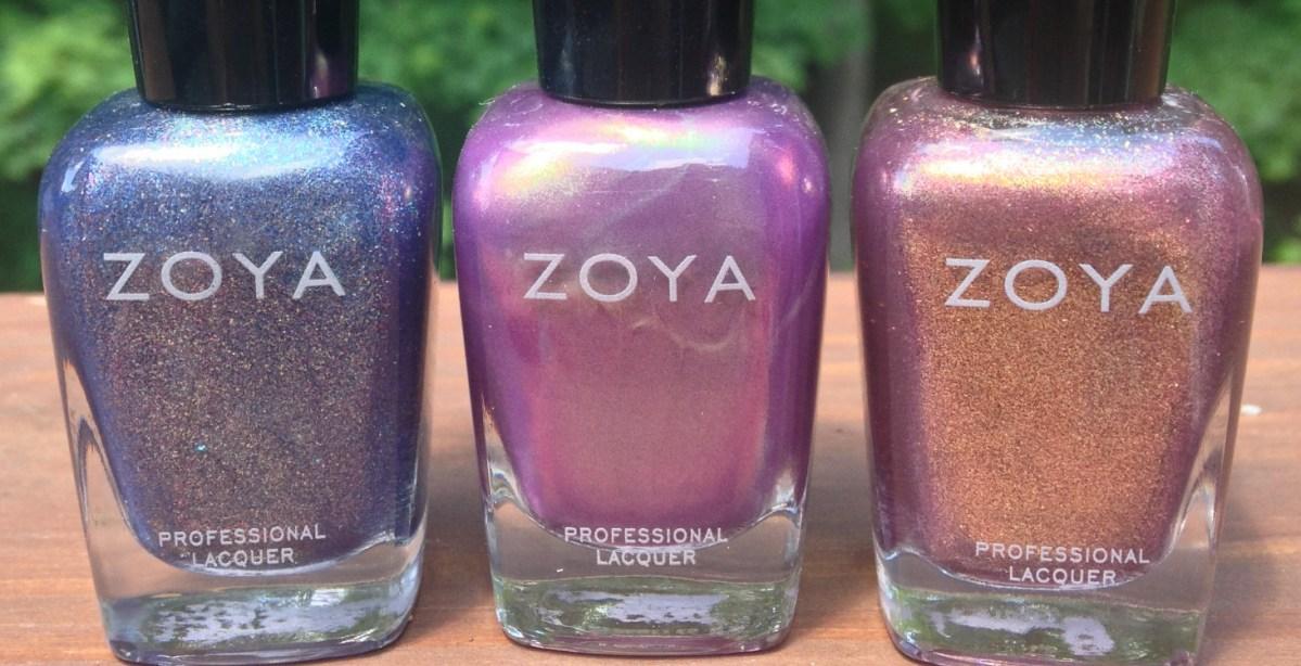"""Zoya """"3 Free"""" Haul- FeiFei, Adina & Faye"""