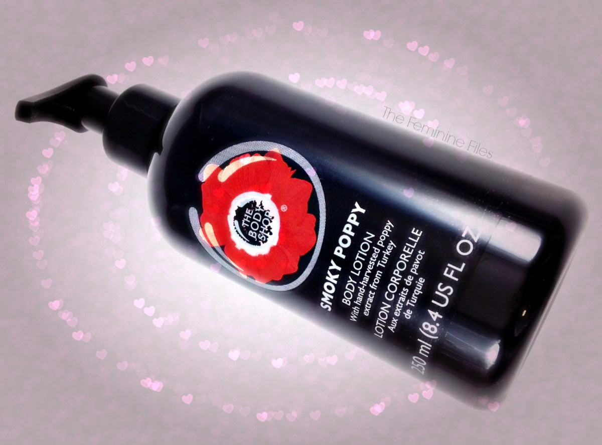 Sensual Smoky Poppy from The Body Shop: Valentines Day Gift Idea!