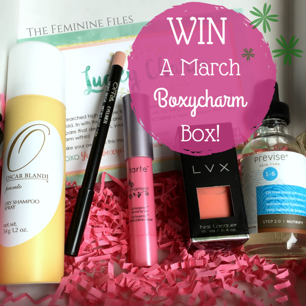 Win a March Boxycharm