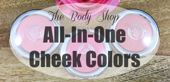 The Body Shop All In One Cheek Colors