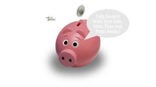 Medium Of Piggy Banks For Kids