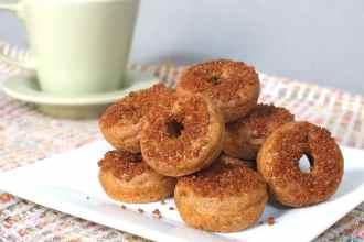 Quinoa Cake Donuts [Gluten Free, Dairy-Free]