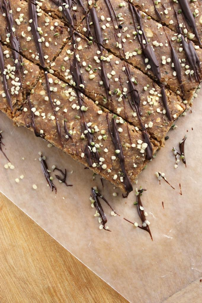 No Bake Gluten Free and Vegan Protein Bars