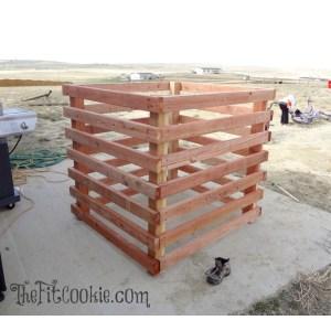 Astounding Home Depot Diy Compost Bin Build A Compost Bin Nurture Your Garden Way Home Depot Vegetable Garden Box