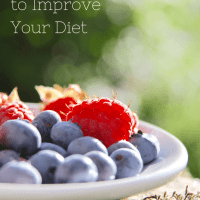 5 Simple Ways to Improve Your Diet