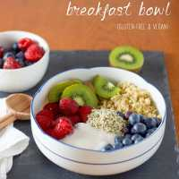 Fruit and Quinoa Breakfast Power Bowl (Recipe Redux)