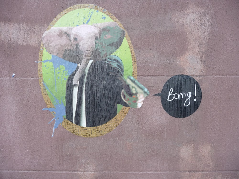 Strasbourg and Banksy? The last post? (1/3)