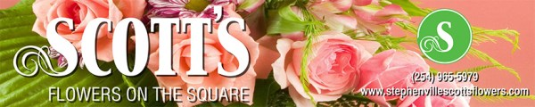 Scott's Flowers banner
