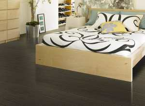 black hardwood flooring Cosmopolitan Maple LA