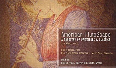 Jan Vinci American FluteScape Album Review