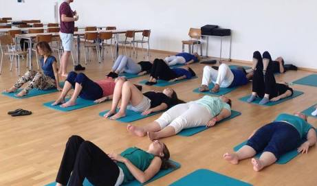 Introduction to Feldenkrais with Niall O'Rourdin